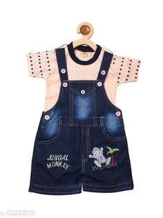 Oneseis & Rompers Prity Girls Jumpsuit   Cotton  Printed Fabric: Cotton Sleeve Length: Short Sleeves Pattern: Printed Multipack: 1 Sizes:  6-12 Months (Bust Size: 19 in Length Size: 15 in Waist Size: 16 in)  12-18 Months (Bust Size: 20 in Length Size: 16 in Waist Size: 18 in)  18-24 Months (Bust Size: 21 in Length Size: 17 in Waist Size: 20 in) Country of Origin: India Sizes Available: 6-9 Months, 6-12 Months, 9-12 Months, 12-18 Months, 18-24 Months, 1-2 Years *Proof of Safe Delivery! Click to know on Safety Standards of Delivery Partners- https://ltl.sh/y_nZrAV3  Catalog Rating: ★4.2 (4582)  Catalog Name: Tinkle Funky Kids Girls rompers CatalogID_774247 C59-SC1184 Code: 253-5228239-