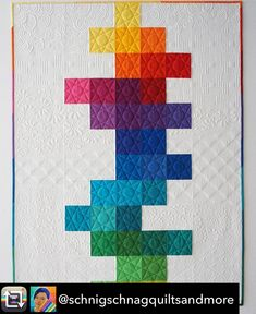 Mein Quilt ist auch fertig. Das Muster ist ein flying geese in ... : we r quilts - Adamdwight.com
