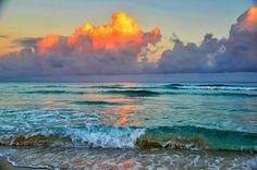 Early morning on Varadero beach