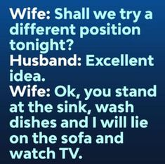 Get your laugh on tothese 20 Outrageously Funny Husband Memes! Wife Jokes, Wife Humor, Cute Quotes, Funny Quotes, Qoutes, Husband Meme, Funny Husband Quotes, Funny Wife, Jokes And Riddles