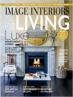 IMAGE Interiors September/October 2017 Living Magazine, Apartment Living, September, Interiors, Live, Image, Home Decor, Decoration Home, Room Decor