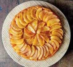 Рецепт карамельно-яблочного тарт татена