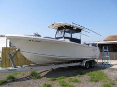 2004-26ft-Sailfish-Center-Console-Twin-150hp-Yamaha-Four-Strokes-with-Trailer