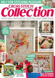 Cross Stitch Collection issue 267 (October 2016)