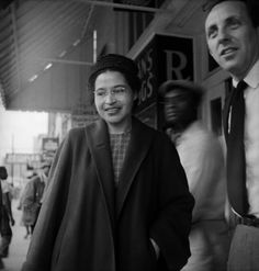 1955: Civil Rights Activist and seamstress Rosa Parks refuses to give up her bus seat in Montgomery, Alabama.  Her simple act, which led to her arrest, sparked the Civil Rights Movement and inspired hundred of thousands across the country. #TurnofStyle
