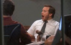 Our reaction when our company brings in Cafe Rio for lunch- If you live in Utah, you'll understand