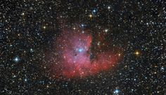 NGC 281. Nebulosa Pacman