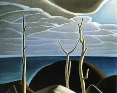 Lake Superior by Lawren Harris- Group of Seven offset lithograph fine art print Emily Carr, Canadian Painters, Canadian Artists, Landscape Art, Landscape Paintings, Group Of Seven Paintings, Tom Thomson Paintings, Art Gallery Of Ontario, King Photography