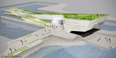 CENTRE PIER - GALWAY HARBOUR COMPETITION