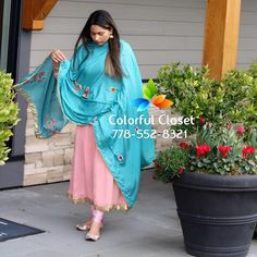 Colorful Closet by Aman Cheema ( Punjabi Suits Party Wear, Party Wear Indian Dresses, Punjabi Salwar Suits, Indian Outfits, Patiala, Punjabi Suits Designer Boutique, Boutique Suits, Indian Designer Suits, Salwar Neck Designs