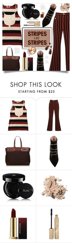 """""""Pattern Challenge: Stripes on Stripes"""" by ames-ym ❤ liked on Polyvore featuring D&G, Dolce&Gabbana, Hermès, Guerlain, Bobbi Brown Cosmetics, Kevyn Aucoin, Stila, Kendra Scott, stripesonstripes and PatternChallenge"""