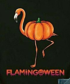 A Florida Flamingoween! Holidays Halloween, Halloween Crafts, Holiday Crafts, Holiday Fun, Happy Halloween, Halloween Decorations, Halloween Parties, Fall Decorations, Flamingo Decor