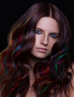 subtle rainbow highlights.. AMAZING!