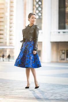 Winter Flowers :: Floral skirt