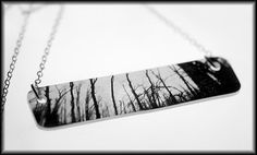 The Woods Necklace  SALE by LePhotique on Etsy