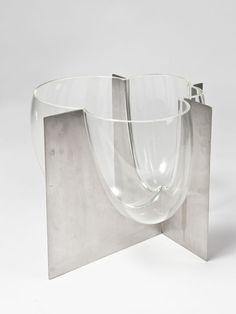 Lot : Carlo Nason (1936) - Vaso vetro soffiato circa1969..   Dans la vente Arts Décoratifs du XXème siècle, Design à Il Ponte Casa d'Aste