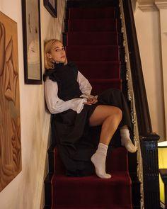 Jemima Kirke On Kanye, Internet Fakes & Saying Goodbye To 'Girls' For Oyster Fashion Mag, Fashion Outfits, Fashion Beauty, Kanye West Twitter, Oyster Magazine, Jemima Kirke, Kirkenes, Perfect Woman, Babydoll Dress