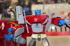 A PlayStation That Transforms Into An Optimus Prime Figure