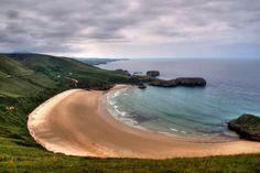 Destination: Bilbao, Spain. Secret beach: Torimbia