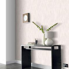 Graham & Brown 56 sq. ft. Shatter Paintable White Wallpaper