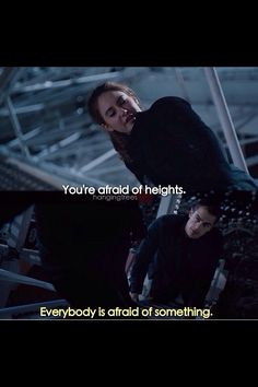 Except for me....I'm afraid of everything...not something lol:)