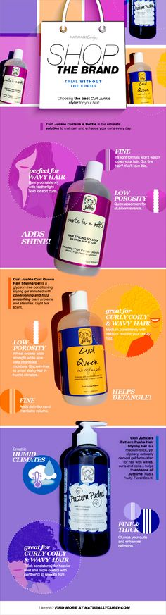 Which have you tried? I have only used Curls in a Bottle and I like how it holds my fine 3B hair. Read on to see which you would try