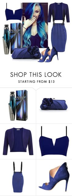 """Six models / Six colors / 3rd blue"" by deloysfashions ❤ liked on Polyvore featuring Hobbs and Miu Miu"