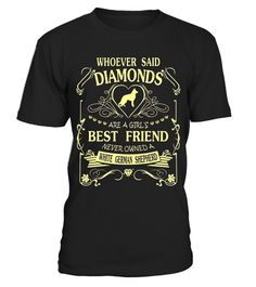 """# I love my White German Shepherd than diamond Cute Gift Shirt .  Special Offer, not available in shops      Comes in a variety of styles and colours      Buy yours now before it is too late!      Secured payment via Visa / Mastercard / Amex / PayPal      How to place an order            Choose the model from the drop-down menu      Click on """"Buy it now""""      Choose the size and the quantity      Add your delivery address and bank details      And that's it!      Tags: Whoever Said Diamonds…"""