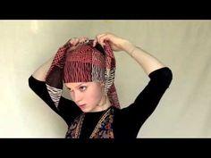 How to tie Alicia Keys' ponytail headscarf