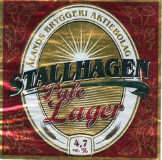 Ålands Bryggeri Stallhagen Pale Lager 4,7% pullo SOPP 2004