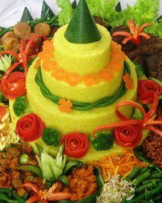 Nasi Kuning Komplit (Spesial)