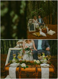 Floral chandeliers, cute couple, rustic reception decor- what more could you want! Styled by Meant To Be Magnolia Kitchen, Reception Decorations, Table Decorations, Floral Chandelier, Cute Couples, Chandeliers, Woodland, Meant To Be, Whimsical