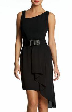 Runway Pleated Skirt Dress