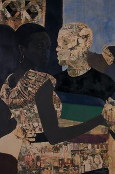 I Refuse to be Invisible | Njideka Akunyili Crosby