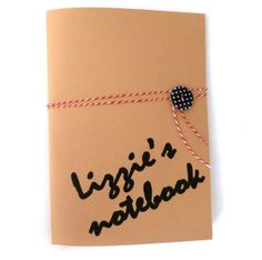 Personalised notebook with fun pages - Bridgetown £12.00