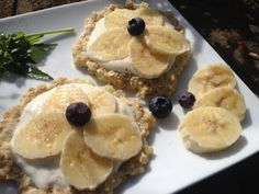 Cuisine Ma-Ligne!: Breakfast Pizza WW Banane et crème (7SP ou 5PP)