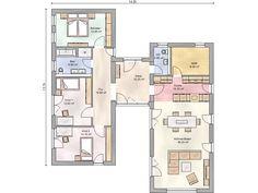 Die 123 Besten Bilder Von Grundriss Bungalow Home Plans House