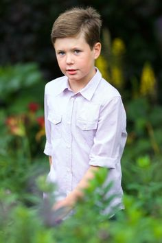 Prince Christian, oldest son of Crown Prince Frederik, will one day be King Christian XI of Denmark.