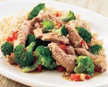 Biggest Loser Recipes - Pork Stir Fry