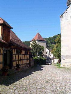 Inside the Abbey walls - Bebenhausen Abbey near Stuttgart.