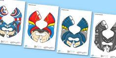 Superhero Bee Bot Pack