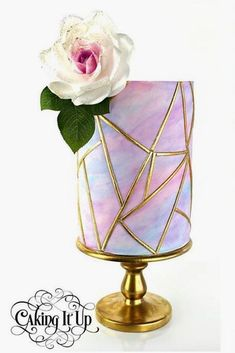 18 Trendy Marble Wedding Cakes ❤ See more: http://www.weddingforward.com/marble-wedding-cakes/ #wedding #cakes #weddingcakes