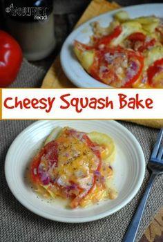 Cheesy Squash Bake I