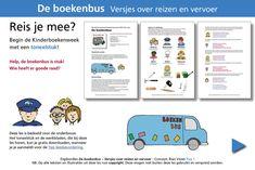 Kinderboekenweek 2019: Vervoersmiddelen – Reis mee!   Rian Visser Patches, Teaching, Front Button, School, Shirts, Schools, Learning, Education, Dress Shirts