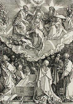 Asunción, Coronación de la Virgen (1510). Alberto Durero  (Josely Borges Ortiz)