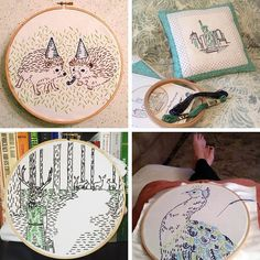 You guys keep amazing me with your work. Here's a look at what @cozylemay @margery17cass Melody Christa and @beagletracy. I love seeing which kits you are stitching so share your pictures with me by mentioning @studiomme in your post or tag.