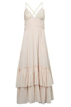 EDITH EMBROIDERY MAXI DRESS
