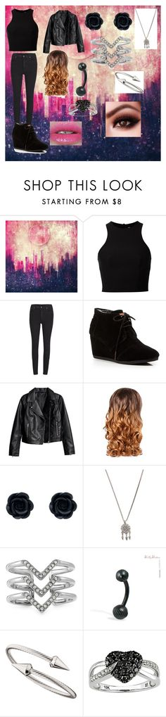 """""""Ghost"""" by evolover ❤ liked on Polyvore featuring T By Alexander Wang, Cheap Monday, TOMS, Lipsy, With Love From CA, Stella & Dot, Jules Smith and Ice"""