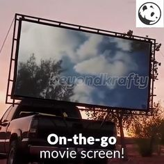 Outdoor Movie Screen, Outdoor Movie Nights, Outdoor Cinema, Backyard Movie Nights, Outdoor Rooms, Outdoor Fun, Outdoor Living, Family Movie Night, Family Movies