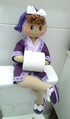 Boneca de lavabo